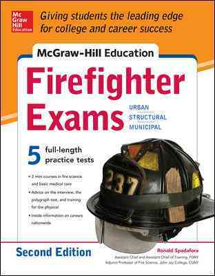 Firefighter Exams By Spadafora, Ronald